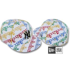 Rare 59Fifty New York Yankees Dawg Chains Hat